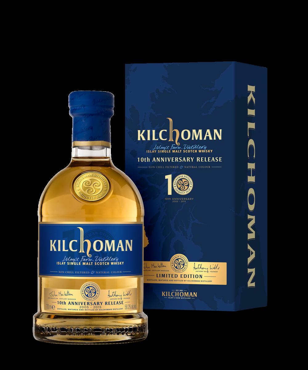 Kilchoman Machir Bay 10th Anniversary Tour 2015 (58,9%)