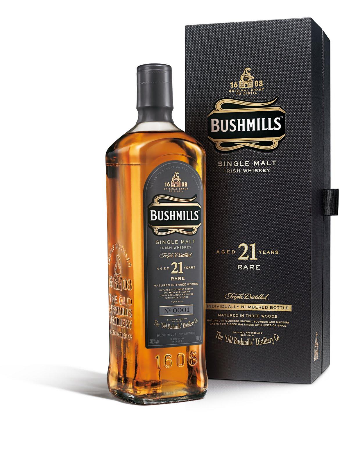 Bushmills 21 YO (40%)