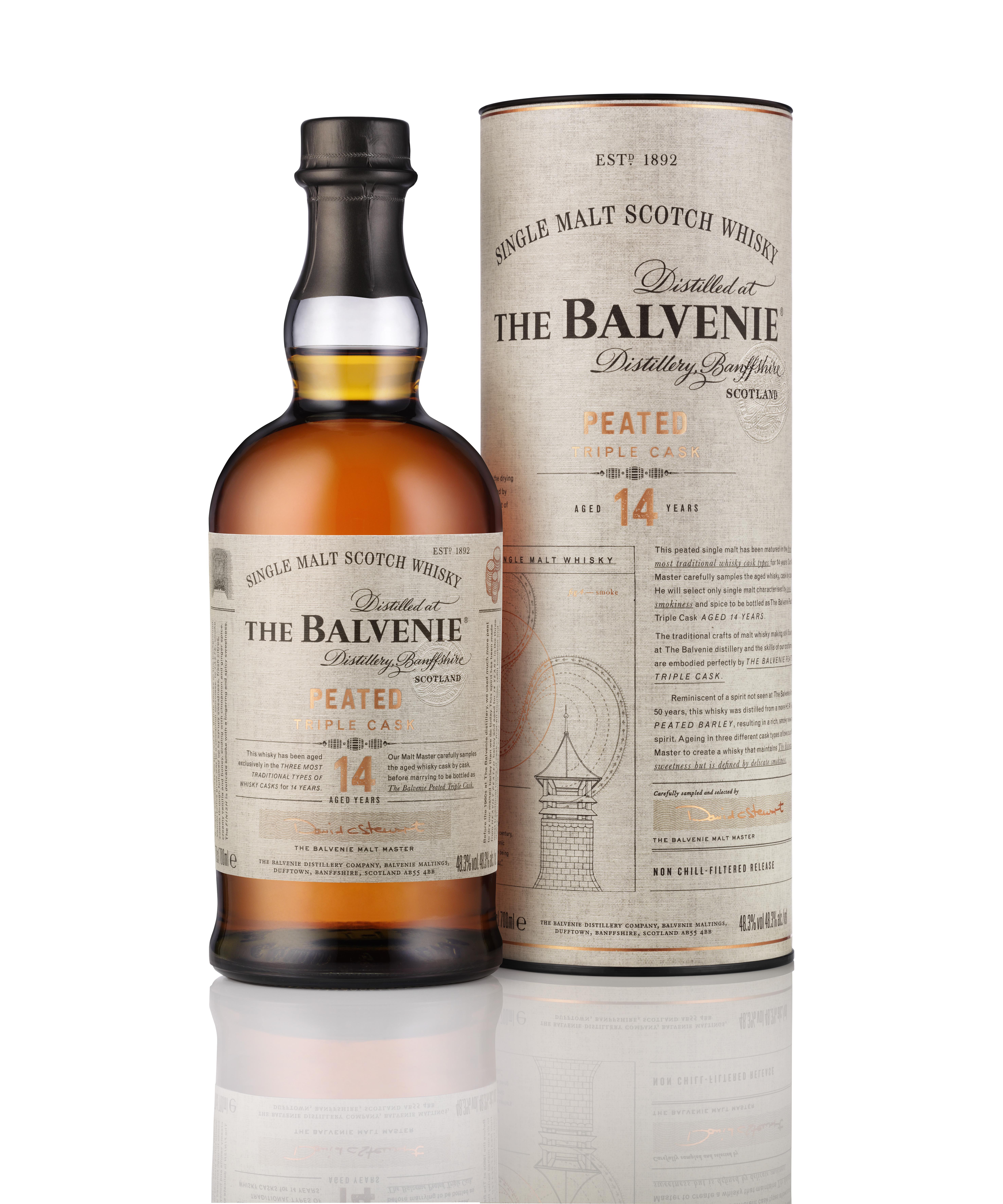 Balvenie Peated Triple Cask 14YO (48.3%)