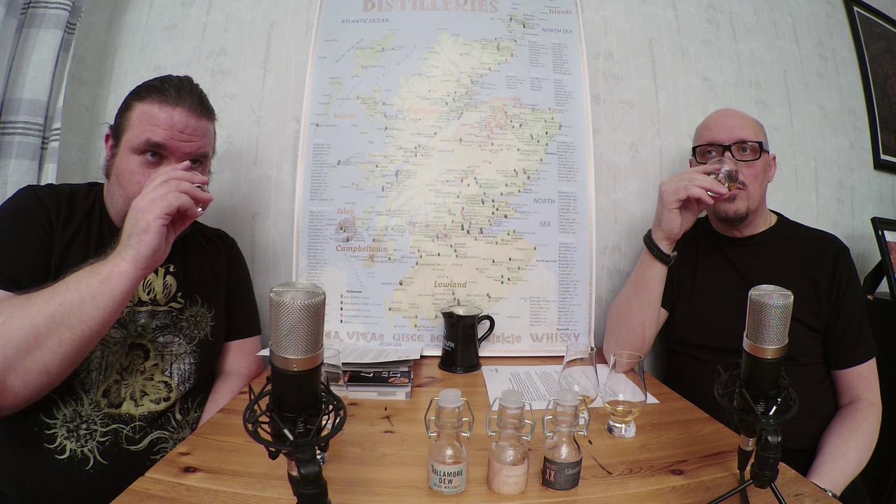 WTV 034 – Två gånger Glenfiddich och en Tullamore Dew XO.