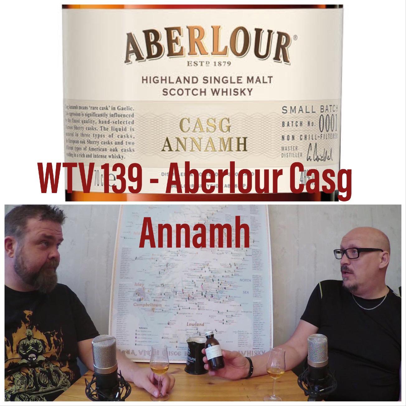 WTV 139 – Aberlour Casg Annamh